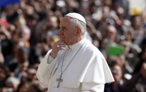 Papež pozval svetovne voditelje k boju proti brezposelnosti