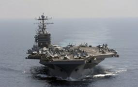 Ameriška letalonosila zaplula v Perijski zaliv; Iran ne trza