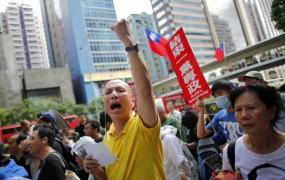 V Hongkongu protesti ob 15-letnici vrnitve Kitajski