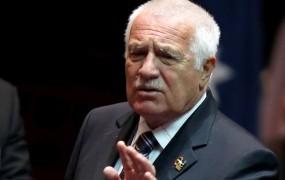 Klaus: Razpad Češkoslovaške je bolj koristil Slovaški