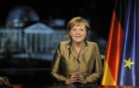 Novoletni poslanici Angele Merkel in Nicolasa Sarkozya