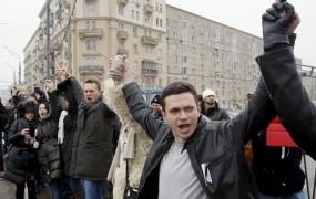Človeška veriga proti Putinu