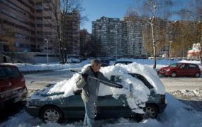 Na Hrvaškem krepko pod ničlo, tudi do minus 18 stopinj