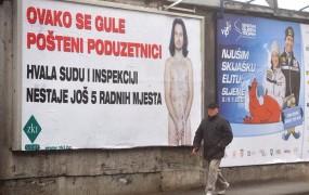 Hrvaški podjetnik z golo fotografijo proti državni birokraciji