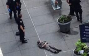 Newyorški strelec ubil le eno osebo, policista nato ranila devet ljudi