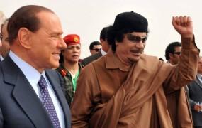 Gadafijev prijatelj Berlusconi: Sic transit gloria mundi