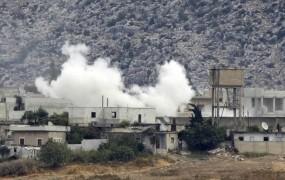 Na turško ozemlja priletela sirska granata; Turčija odgovorila na napad