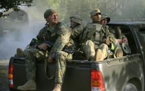 Napadalci iz Rusije vdrli v Gruzijo; 14 mrtvih v obračunu