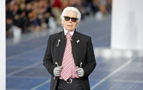 Karl Lagerfeld označil francoskega predsednika Hollanda za bedaka