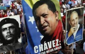 Castro praznik dela posvetil »najboljšemu prijatelju« Kube Hugu Chavezu