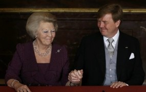 Nizozemska kraljica Beatrix abdicirala, novi kralj Viljem Aleksander