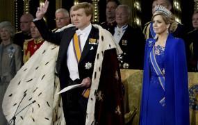 Viljem Aleksander prisegel kot novi nizozemski kralj