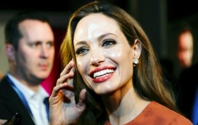 Obisk Angeline Jolie obsedel Hrvate