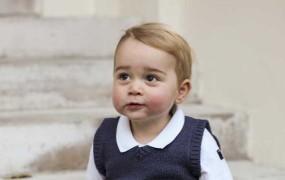 William in Kate objavila božične fotografije princa Georgea