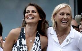 Martina Navratilova dahnila da svoji prijateljici