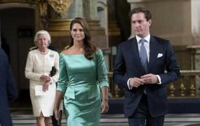 Švedska princesa Madeleine pričakuje drugega otroka