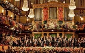 Tradicionalni novoletni pozdrav z Dunaja ob valčkih in polkah družine Strauss