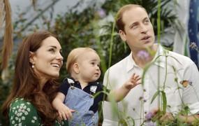 Britanska kraljeva družina lani prejela kup daril, še posebej George