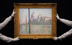 Dražba del impresionizma in nadrealizma hiše Sotheby's prinesla rekorden izkupiček