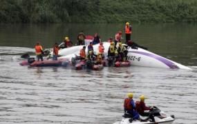 V letalski nesreči na Tajvanu več mrtvih