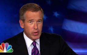 Voditelj televizije NBC Brian Williams v težavah zaradi laganja