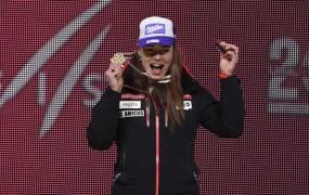Tina Maze gre v veleslalomu po novo medaljo