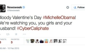 Hekerji grozili družini Obame preko računa revije Newsweek na Twitterju