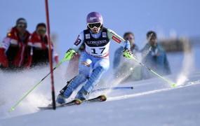 Tina Maze danes še po slalomsko medaljo