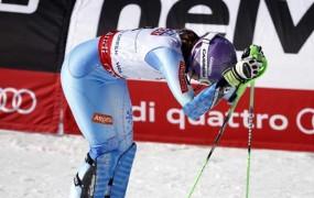 Utrujeni Tini Maze ni uspelo poseči še po slalomski medalji