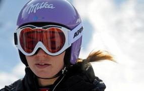 Psihično izpraznjena Mazejeva je pred slalomom komaj dihala