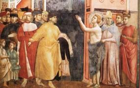 Frančiškani v Assisiju zbirajo sredstva za obnovo fresk