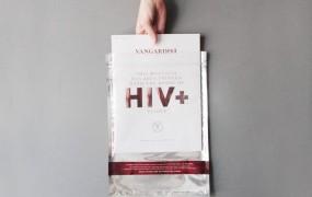 Avstrijska revija natisnjena s krvjo okuženih s hivom