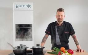 Chef Bine Volčič priporoča novo generacijo vgradnih aparatov Gorenje