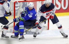 Šest tekem, šest porazov in izpad slovenskih hokejistov