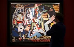 Picassove Alžirke prodane za rekordnih 179 milijonov dolarjev