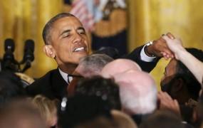 Obama ne mara razgrajačev: Ne prekinjajte me v moji hiši!