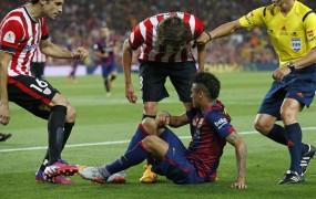 Barcelona in Athletic kaznovana zaradi žvižgov kralju