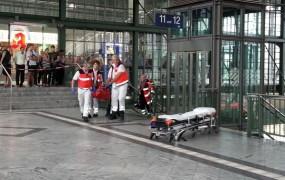 Streljanje na železniški postaji v Nemčiji