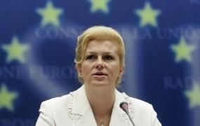 Hrvaška predsednica dobila svoje pivo Kolinda