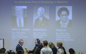 Nobelova nagrada za medicino za odkritja pri zdravljenju parazitskih okužb