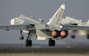 V Siriji strmoglavil ruski reaktivec, posadka umrla