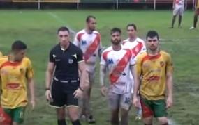 Sodnik na nogometni tekmi izključil nesramnega TV komentatorja