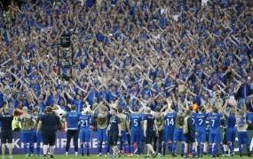 Kar petina Islandcev bi šla na nogometno SP v Rusijo
