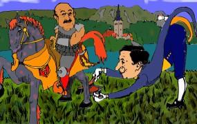 Pospravljamo podstrešje: Kako je Karel na Bledu Brdavsu oprodo igral