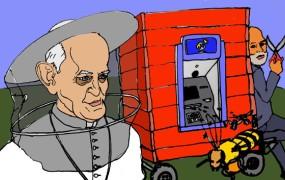 Pospravljamo podstrešje: Papež Frančišek bo trote lovil