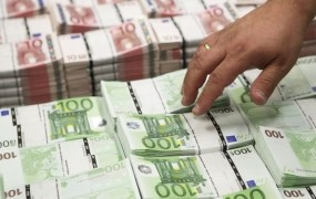 Slovenija se je zadolžila za nove 1,3 milijarde evrov