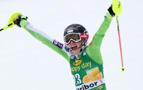 Ana Bucik s slalomom kariere do prvih stopničk svetovnega pokala