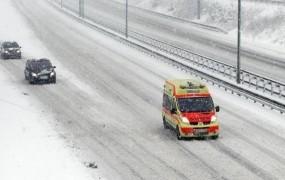 Slovenija jutri dobi pošiljko snega: od 10 do 20 cm po večini države