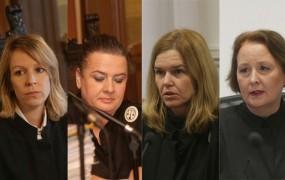 To so obrazi sodstva: Nove fotografije sodnikov iz razvpitih procesov