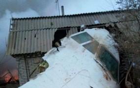 Na vas v Kirgiziji padel boeing 747; več kot 30 mrtvih